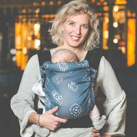 Baby sling or baby carrier