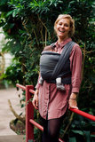 Baby sling Black/Antracite_