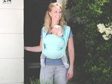 Baby sling Mint - size 6_