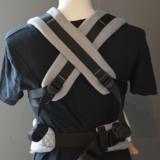 Dark Grey - Carrier Cross & Go Baby_