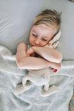 Toddler blanket Wool - grey_