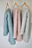 Toddler blanket Wool - Pink_