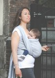 Baby sling Blue, last pieces_
