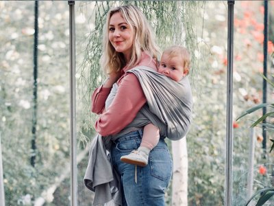 Baby sling Dark Grey