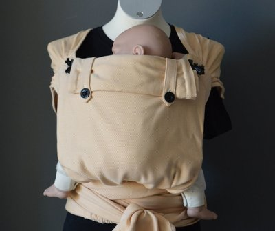 Carrier Wrap & Go Baby - Ocher Yellow