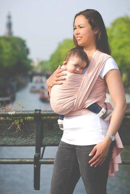 Baby sling Peach