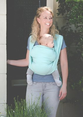 Baby sling Mint