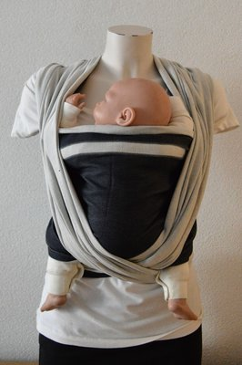 Baby Sling Dark Grey/Light Grey Double