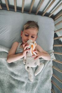 Toddler blanket Wool - grey