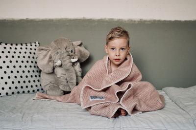 Toddler blanket Wool - Pink
