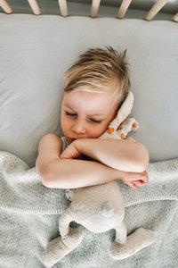 Baby blanket Wool - Grey