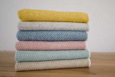 Pre-order toddler blanket Yellow, Oat, Grey or Ocean