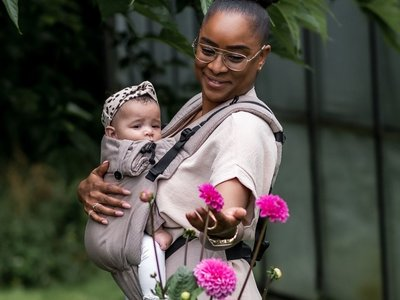 NEW! Brown Carrier Click & Go Baby